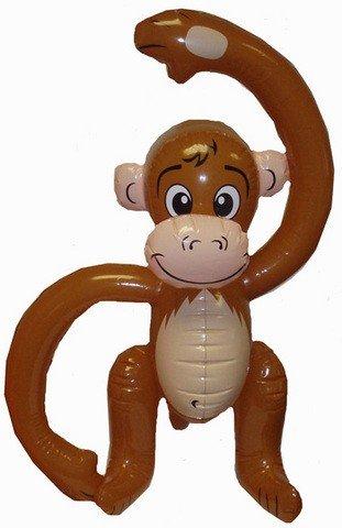 1 x Gonfiabile Scimmia [Toy]