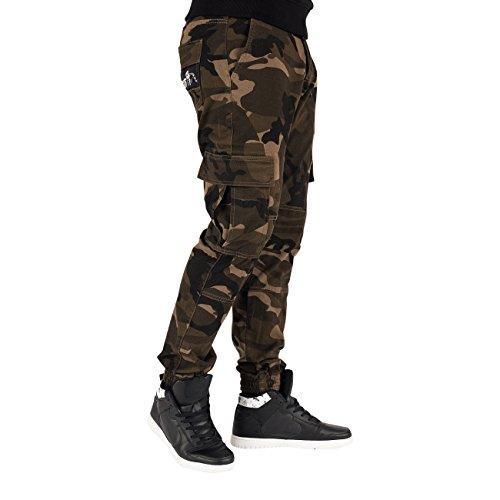 Amstaff -  Pantaloni sportivi  - Uomo Mimetico