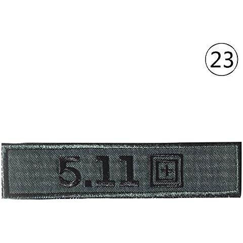 Bordado personalizado nuevo artículo 3D Capítulo pecho de la goma Enviar completa del diseño del bordado Placas Patch 23 estilos liberan