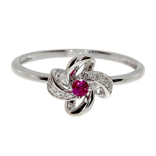 und Single Cut Diamant Flower Ring (Flower Cut-outs)