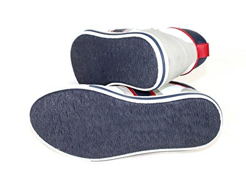 Armani  Z6571, Hi-Top Sneakers homme Gris - Grau-Blau