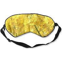 Sleep Eye Mask Yellow Flowers Lightweight Soft Blindfold Adjustable Head Strap Eyeshade Travel Eyepatch E5 preisvergleich bei billige-tabletten.eu