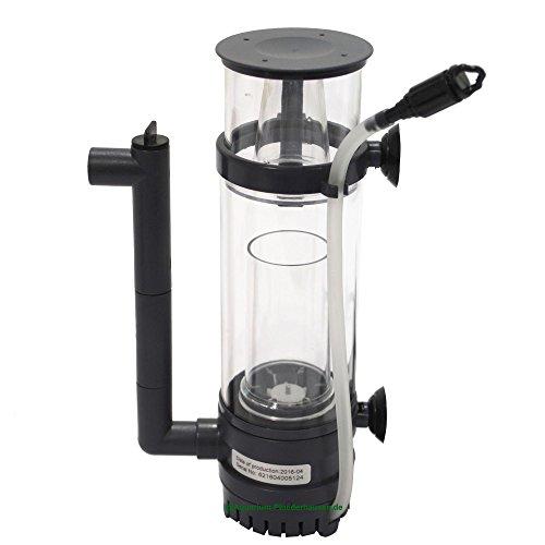 Eiweißabschäumer mit Pumpe für Salzwasseraquarium 20L - 60L, Aquarium Skimmer