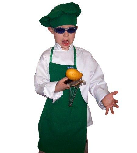 Chefsin - Delantal y gorro de chef
