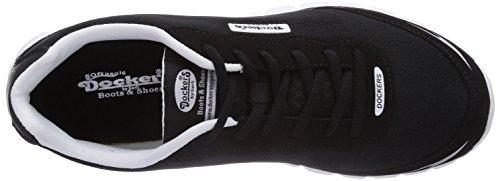 Dockers by Gerli  36LN001, Sneakers basses homme Noir - Noir