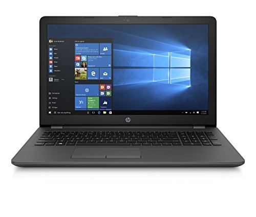 HP 250 G6 Notebook PC, Intel Core i5-7200U, RAM da 8 GB DDR4, SSD da 256 GB, Display LCD 15.6 FHD SVA Antiriflesso 1920 x 1080, Argento/Cenere Scuro