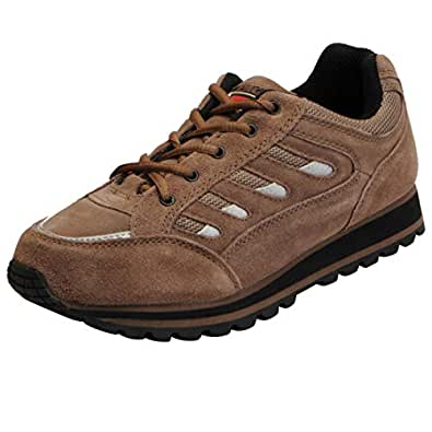 Lakhani Pace Men's Brown Running Shoes PACE NH 17 0111-44