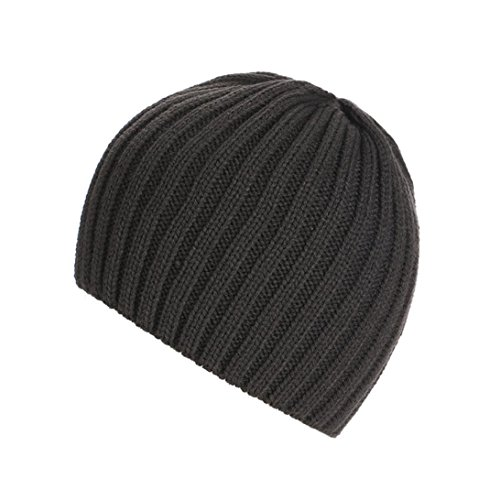 Amlaiworld Strickmützen, Unisex warm Knit ski Baggy Cap Winter Hat (Dunkelblau)
