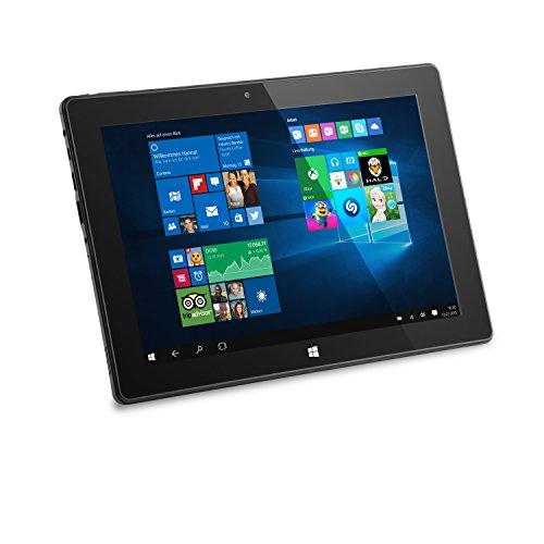 CSL Panther Tab 10 USB 3.1 inkl. Windows 10-10.1 Zoll (25,6cm) Tablet, Intel QuadCore CPU 4 x 1920 MHz, 2GB RAM, 32GB SSD, 32GB microSD-Card