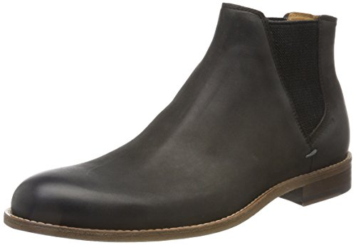 BOSS Orange Herren Varadero_Cheb_lt Chelsea Boots, grau (dark grey), 45 EU
