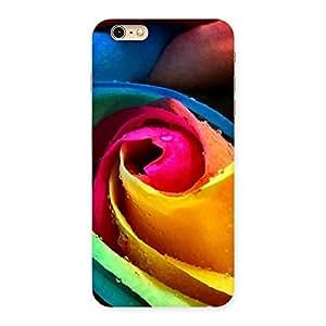 Impressive Rose Droplets Multicolor Back Case Cover for iPhone 6 Plus 6S Plus