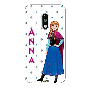 Hamee Disney Princess Frozen Official Licensed Designer Cover Hard Back Case for Xiaomi Redmi Note 3 ( Anna style )