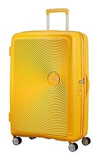 American Tourister Soundbox Spinner Espandibile Bagaglio A Mano, 77 cm, 97/110 L, 4.2 Kg, Giallo (Golden Yellow) (B079M2FN9B) | Amazon price tracker / tracking, Amazon price history charts, Amazon price watches, Amazon price drop alerts