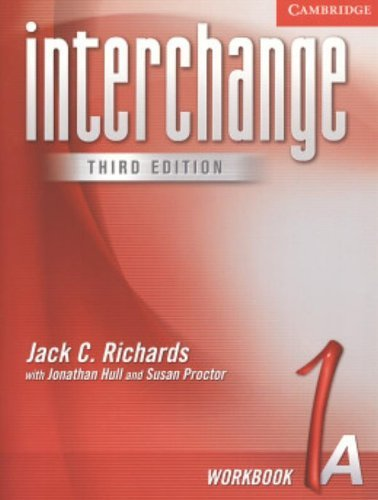 Interchange Workbook 1A by Jack C. Richards (2004-11-29)
