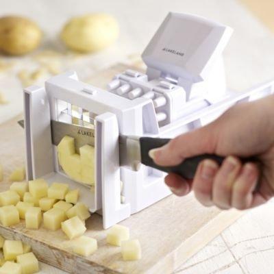 Lakeland trancheuse a pommes de terre et l gumes coupe frites b tonnets et d s - Comment couper des pommes de terre en cube ...