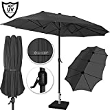 Kesser® Sonnenschirm Doppelsonnenschirm | Gartenschirm | Marktschirm |...