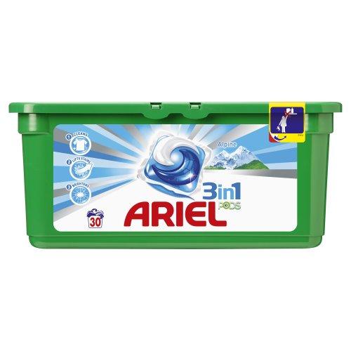 Ariel 3en1 Pods - Alpine - Lessive 30 doses