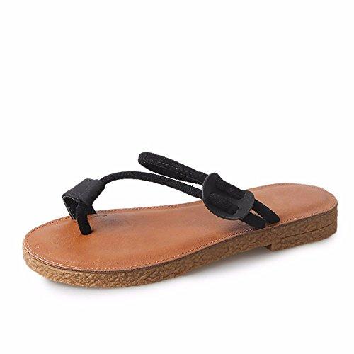 FLYRCX Il flip flop ladies estate a fondo piatto pantofole a