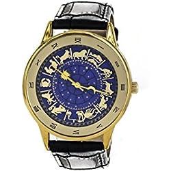 Armbanduhr, Astrologische Uhr von Saint Marc quadratisch in Venice