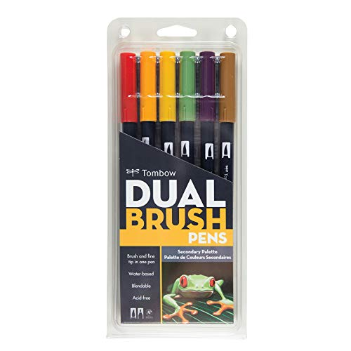 Tombow Dual Brush Pen Art Markers, Secondary, by Tombow