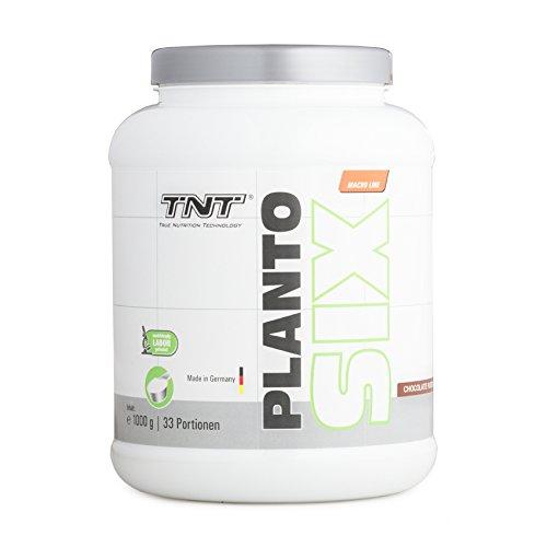 Vegan Protein - Veganes Proteinpulver aus Erbsen, Hanf & Lupinen - Pflanzliches Eiweiß - 1 kg Peanut-Butter-Creme