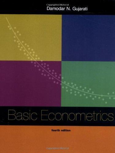 Gamaliel Sander Basic Econometrics By Damodar Gujarati 2002 03 18