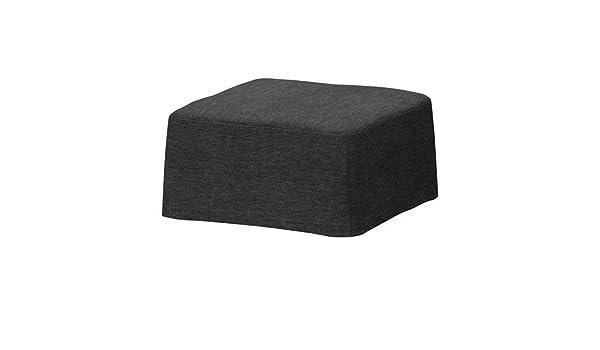 Ikea nils sgabello cover sivik grigio scuro amazon casa e