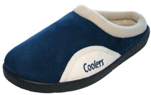 Mens Coolers Brand Microsuede Slip On Mule Clog Slipper 361 UK 11 Navy