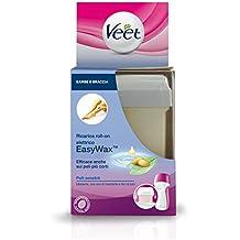 Veet - Easywax recargar roll-on sensible eléctrica de la piel cuidado del cuerpo