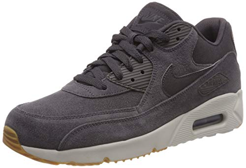 promo code e1ab5 5f071 Nike Men s Air Max 90 Ultra 2.0 LTR Gymnastics Shoes, Thunder Grey Lt Bone