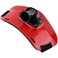 Cinturón de Soporte de Cañas de Pescar Ajustable Accesorios de Pesca ( Color : Rojo )