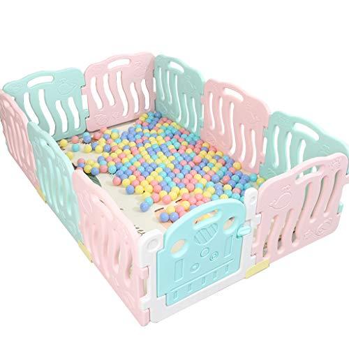 Baby Vivo Box Bambini Recinto Cancelletto Pieghevole Sicurezza Barriera Giochi Protezione