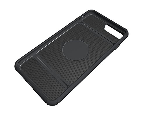 Custodia iPhone 7 Plus, iPhone 7 Plus Cover Silicone, SainCat Custodia in Morbida TPU e Hard PC Protettiva Cover per iPhone 7 Plus, 2 in 1 Custodia Cover Shock-Absorption Antiurto 3D Design Silicone C Grigio