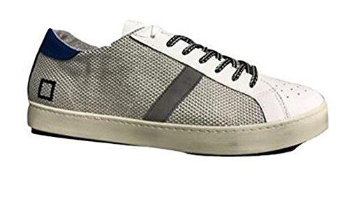D Pelle In E a Sneaker Bianca t Low Tessuto e Hill Bianco Argegno 0ZBCn0vx