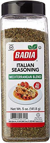 Badia Italian Seasoning (Mediterranean Blend) - (5oz) 141.8g
