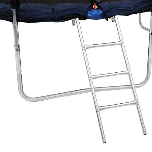 Songmics Trampolin Ø 366 cm Sports Outdoor Gartentrampolin Komplett-Set inkl. Sicherheitsnetz Randabdeckung Leiter - 8