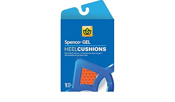 Spenco Gel Heel Cushions 42-747 One Size Fits All