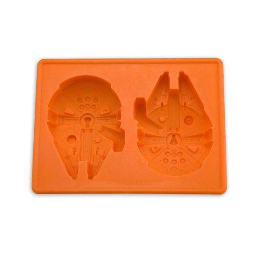 Star Wars 58620 Millennium Falcon Eiswürfel und Backform, Größe: 15 x 11 x 2.7 cm