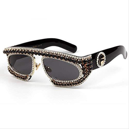 LKVNHP Übergroßen Sonnenbrille Männer Großen Schwarzen Rahmen Coole Weibliche Sonnenbrille Für Frauen Männliche Brille Oculos