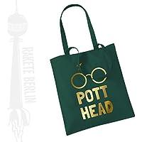 Jutebeutel Stoffbeutel ' Potter Head '