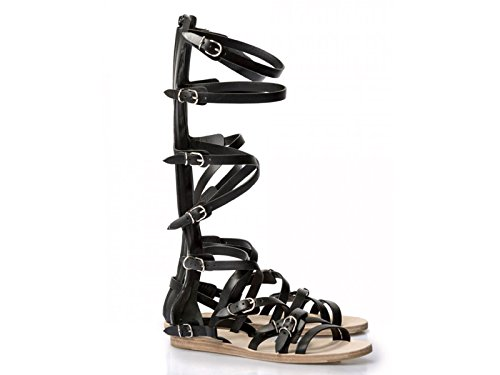 Sandali gladiatore Balenciaga in Pelle di vitello nero - Codice modello: 410931 WASC0 1000 - Taglia: 38 IT