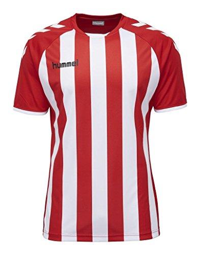 Hummel Herren Core Striped SS Jersey Trikot, True Red/White, L