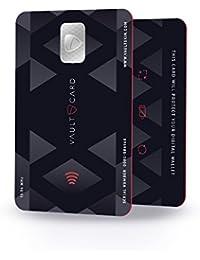 VAULTCARD - RFID Blocking/ Bloqueo RFID para tarjeta de crédito y débito/ Protección NFC para su billetera y pasaporte / Protege varias tarjetas al mismo tiempo
