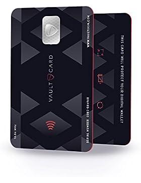 VAULTCARD - RFID Blocking/ Bloqueo RFID para tarjeta de crédito y débito/ Protección NFC para su billetera y pasaporte...