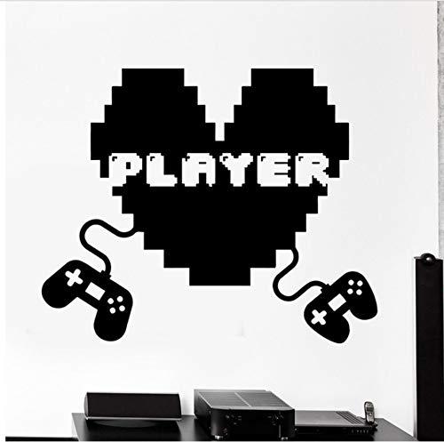 Spielzimmer-spiel-tabellen (56x69 cm Ich Liebe Spiele Zitieren Zeichen Vinyl Wandtattoos Gaming Gamer Wandaufkleber Für Spielzimmer Wohnzimmer Schlafzimmer Dekoration)