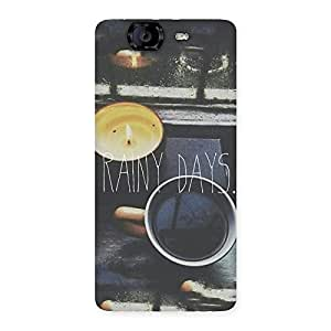 Neo World Rainy Days Back Case Cover for Canvas Knight A350