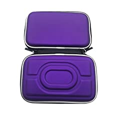 Meijunter Hard EVA Carry Case Cover Bag Pouch Box Holder for Nintendo Gameboy Advance GBA Gameboy Color GBC Console (Purple)