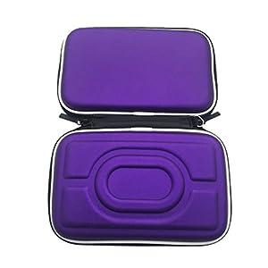 Meijunter Hart EVA Tragetasche Schutzhülle Tasche Hülle Etui für Nintendo Gameboy Advance GBA Gameboy Color GBC Konsole (Purple)