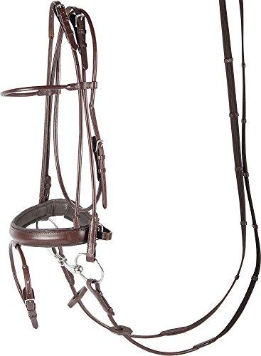 Harry\'s Horse 28002140-03pony Trense Luxe, Rundgenäht - Pony, S, braun