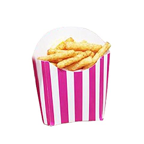 12 PCS Birthday Party Supplies Popcorn Cups Boîtes alimentaires pour frites / sucre - A2